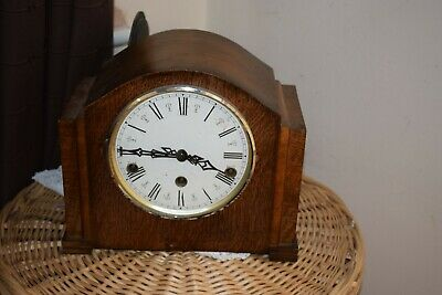 Vintage 'Enfield' 8-Day Mantel Clock with Westminster Chimes