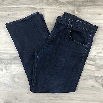 Citizens of Humanity COH Perfect Relaxed Dark Wash Denim Jeans Mens Size 36 X 29