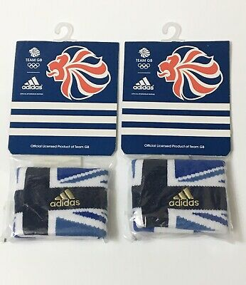 London Olympic 2012 Pair Of wristband Team GB Gold Edition Sports Memorabilia