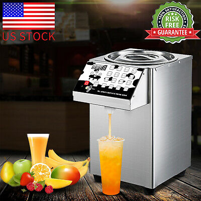 110V Fructose Dispenser Bubble Tea Equipment Fructose Quantitative Machine US