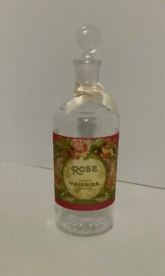 Bottle with Rose Label Made in France