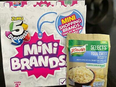 Zuru Mini Brands Knorr Four Cheese Risotto Side 5 Surprise