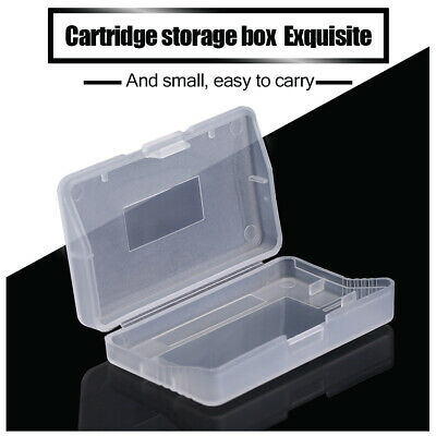 10pcs Clear Cover Cartridge Game Case Shell For Nintendo Game Boy Advance GBA