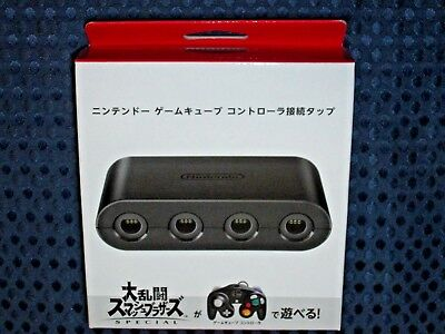 Nintendo Switch GC Controller Connection Tap Adapter Super Smash Bros Ultimate