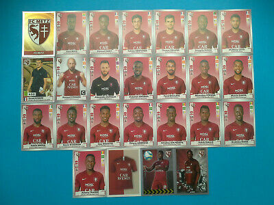 Images Panini FOOT 2019-20 2020 Images Equipe Complete METZ FC