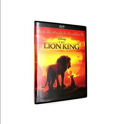 The Lion King 2019 Brand New Dvd Factory Sealed Fast Ship!!