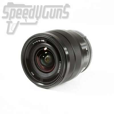 USED Sony E 10-18mm F4 OSS E-mount Lens SEL1018