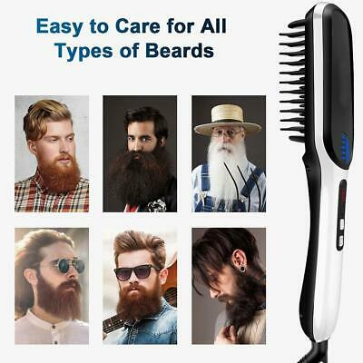 Multifunctional Men's Quick Beard Straightener Hair Comb Curling Curler Set