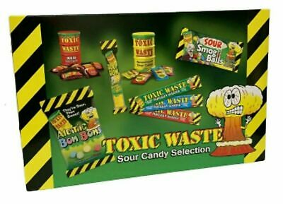 Toxic Waste Sour Candy Hamper Selection Sweet Box Christmas Sweets Gift Box 385g