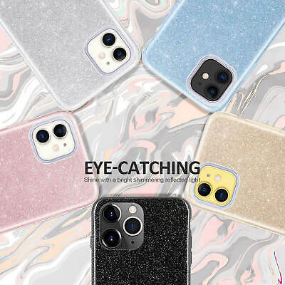 Bling Glitter Diamond Sparkle Silicone Case Cover For Apple iPhone 11 Pro Max