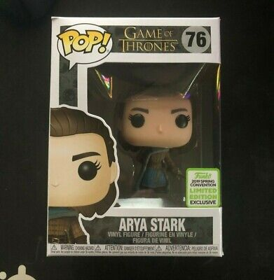 Funko Pop! Game of Thrones - Arya Stark #76 ECC Shared Exclusive (NIB)