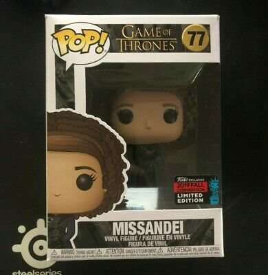Funko Pop! Game of Thrones - Missandei #77 NYCC 2019 Shared Exclusive (NIB)