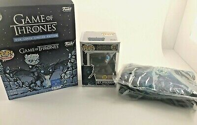 Funko Pop! Game Of Thrones - Icy Viserion Pop & Tee Box Lunch Excl Size XL
