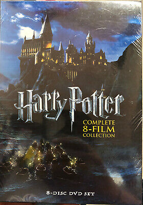 Harry Potter Complete 8-Film Collection (Dvd) Brand New