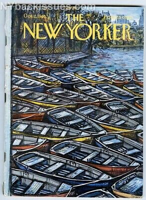 New Yorker magazine October 2 1965 Truman Capote In Cold Blood part 2 1st ed