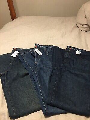 NEW WITH TAGS The Childrens Place Lot Of 3 Jeans Adjustable. Boy Size 18S Slim