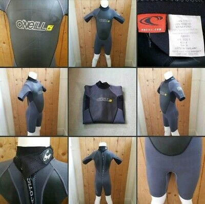 *Used* Lovely Kids Thin Wetsuit Shortie ▪O'NEILL▪ Size 8~Grey~Watersport & Beach