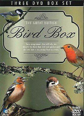 , The Great British Bird Box 3 DVD Box Set, Like New, Videodisc