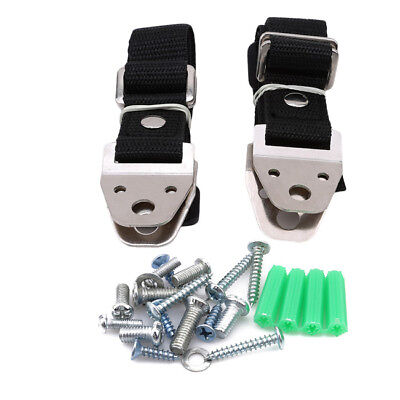 TV & Furniture Anti tip Safety Anchor Straps Earthquake Safe For Child & Baby LI