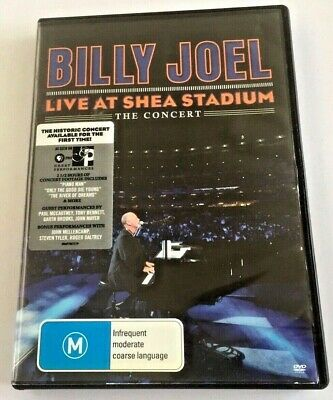 Billy Joel & Special Guests - Live at Shea Stadium - 2008 - 155 minutes - DVD
