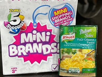 Zuru 5 Surprise Mini Brands Knorr Four Cheese Pasta