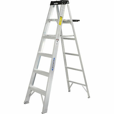 Werner 376 6' Type 1A Aluminum Step Ladder