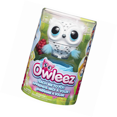 Owleez 6046148 Flying Baby Owl Interactive Toy with Lights and Sounds (White), f
