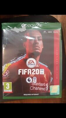 fifa 20 Champions Edition xbox one Case Slightly Damaged At Bottom