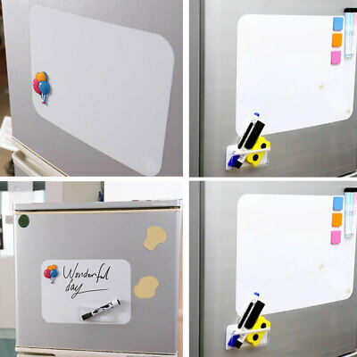 Leave Messages Refrigerator Memo Pad Durable Practice Writing Whiteboard