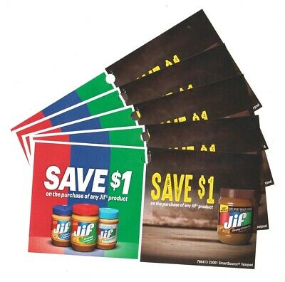 14 x Save $1.00 on any Jif Products NEW Coupons (Canada)