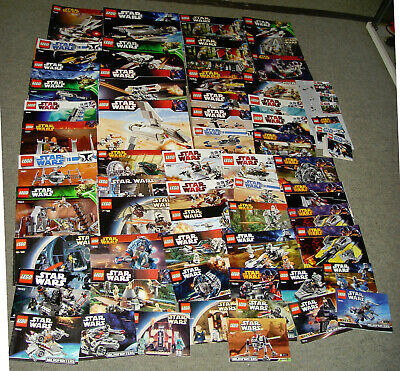 Joblot 60 Lego Star Wars Instruction Manuals  Vintage & Modern