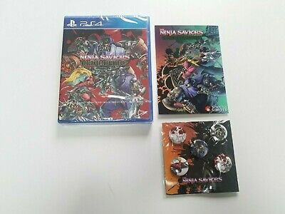 THE NINJA SAVIORS RETURN OF THE WARRIORS sur PS4 Strictly Limited Games n°23