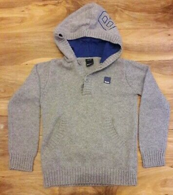 Boys Bench Knitted Hoodie