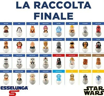 ROLLINZ Star Wars - La Raccolta Finale 3.0 - Esselunga 2020 - personaggi vari