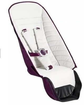 iCandy Peach Chrome 2nd Seat Fabric - Damson RRP £139.99