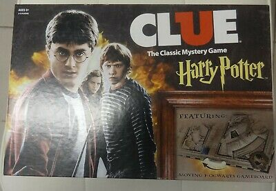 Clue: Harry Potter The Classic Mystery Board Game 2016 Complete