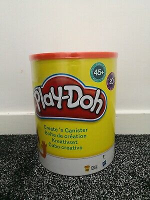 NEW Play-Doh Create N Canister Set 20x Playdoh Tubs 45x Accessories - NEW SEALED