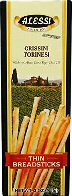 BEST DEAL: Alessi Thin Breadsticks, 3-Ounce Boxes (HUGE Pack of 12)