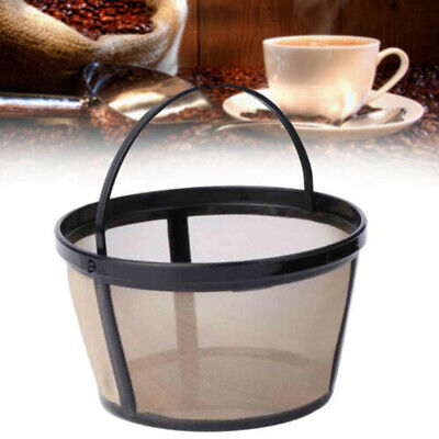 10-12 Cup Reusable Basket Coffee Filter 100 Mesh Basket Coffee Maker UK Stock
