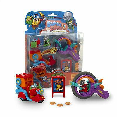 SuperZings Series 3 Mission 3-Pizza Riders Blister Pack (RANDOM PK SUPPLIED)