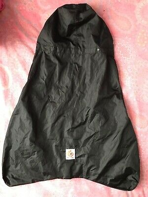 Ergo Baby Carrier Water Weather Resistant Rain Cover, Black. Great condition.