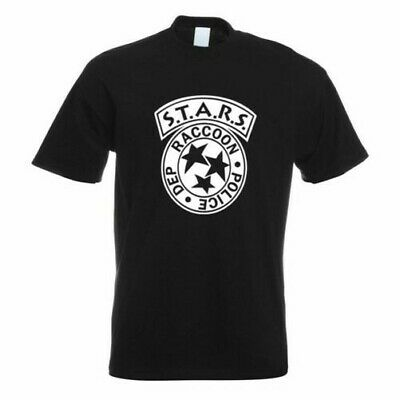 Raccoon Police Department Camiseta Motivo Estampado Divertida Diseño