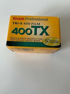 Kodak Tri-X 400TX Professional ISO 400, 36mm, Black and White Film (Pack ... New