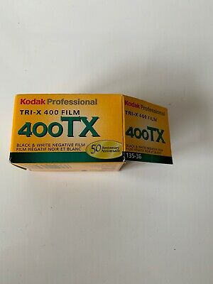 Kodak Tri-X 400TX Professional ISO 400, 36mm, Black and White Film New -Box Open