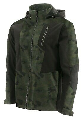 Caterpillar CAT Mercury camouflage water-resistant breathable soft-shell jacket