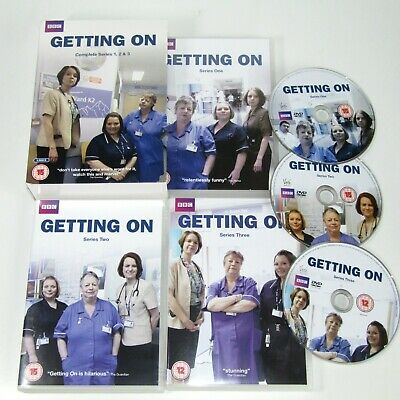 Getting On  Complete Series 1-3 DVD Box Set   Jo Brand   NHS Sitcom