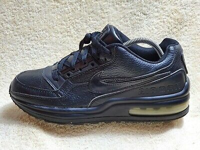 Nike Air Max LTD mens Street Comfort trainers Leather Black UK 8 EUR 42.5