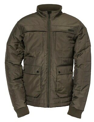 CATERPILLAR CAT 1310014 Defender army moss green insulated jacket size small-4XL