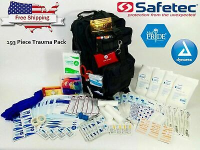 Family Health Care First Aid Bag - Trauma Emergency Medical Kit - Disaster Kit