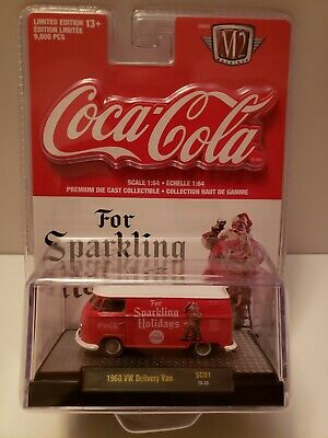 M2 Machines Coca-Cola Release SC01 1960 VW Delivery Van Sparkling Holidays Chair